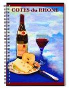 Cotes Du Rhone Spiral Notebook