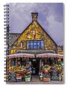 Cotswold Street Market Spiral Notebook