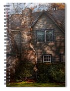 Cottage - Cranford Nj - Autumn Cottage  Spiral Notebook