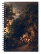 Cottage Door, C.1780 Spiral Notebook