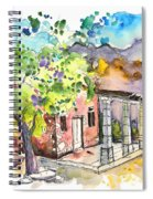 Cottage In Barca De Alva Spiral Notebook