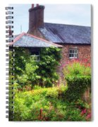 Cottage In England Spiral Notebook