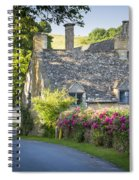 Cottage In The Cotswolds Spiral Notebook