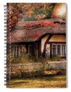 Cottage - Nana's House Spiral Notebook