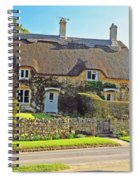 Cottage Of The Cotswolds Spiral Notebook