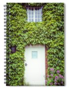 Cottage With Ivy Spiral Notebook