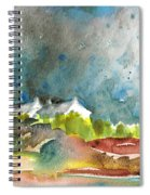 Cottages In Brittany Spiral Notebook