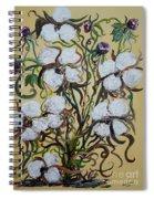 Cotton #2 - Cotton Bolls Spiral Notebook