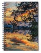 Cotton Bayou Sunrise Spiral Notebook
