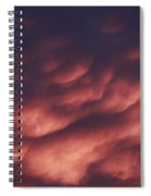 Cotton Candy Clouds Spiral Notebook