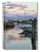 Cotton Candy Clouds Two Spiral Notebook