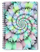 Cotton Candy I Spiral Notebook