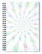 Cotton Candy V Spiral Notebook