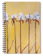 Cotton Chorus Line Spiral Notebook
