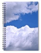 Cotton Clouds Spiral Notebook