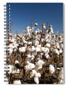 Cotton Fields Spiral Notebook