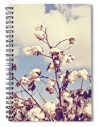 Cotton In The Sky With Filter Spiral Notebook