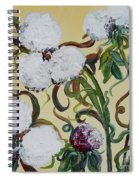 Cotton Squared Spiral Notebook