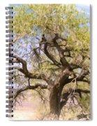 Cottonwood Tree Digital Painting Spiral Notebook