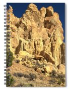 Cottonwood Yellow Towers Spiral Notebook