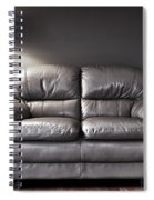 Couch And Lamp Spiral Notebook