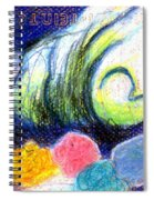 Cloud Flowers Spiral Notebook