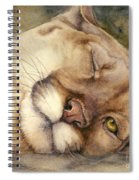 Cougar    I See You     Spiral Notebook