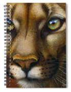 Cougar October 2011 Spiral Notebook