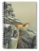 Cougar Perch Spiral Notebook
