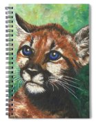 Cougar Prince Spiral Notebook