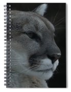 Cougar Profile Spiral Notebook
