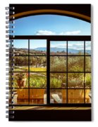 Cougar Winery View Spiral Notebook
