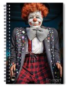Coulrophobia Spiral Notebook