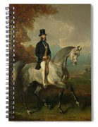 Count Alfred De Montgomery 1810-91 1850-60 Oil On Canvas Spiral Notebook