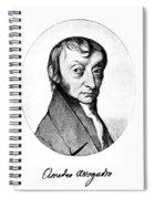 Count Amedeo Avogadro (1776-1856) Spiral Notebook