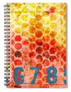 Counting Circles Spiral Notebook