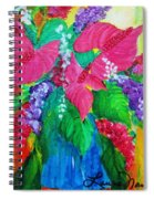 Countrified Exotic Spiral Notebook