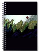 Country Abstract Spiral Notebook