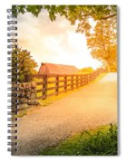 Country Alley Spiral Notebook