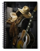 Country And Western Music Spiral Notebook