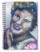 Country Artist Patsy Cline Spiral Notebook