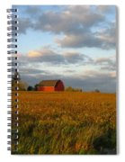 Country Backroad Spiral Notebook