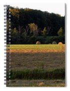 Country Bales  Spiral Notebook