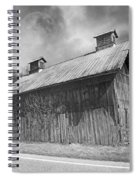 Country Barn Country Moon Country Spiral Notebook