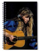 Country Blues Singer Rory Block In Concert Spiral Notebook