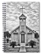 Country Chapel Spiral Notebook