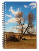 Country Clouds Spiral Notebook