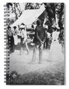 Country Dance, 19th Century Spiral Notebook