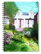 Country Estate In Spring Spiral Notebook