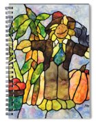Country Fall Spiral Notebook